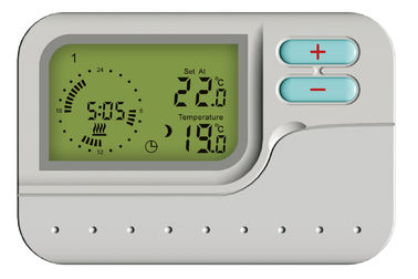 China 5-1-1 Day Programmable Thermostat wired weekly programmable thermostat digital thermostat 230V Power with AAA*batteries supplier