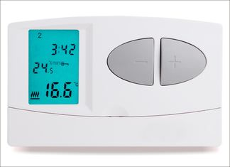 China Wireless Underfloor Heating Thermostat RF 7 Days Programmable supplier