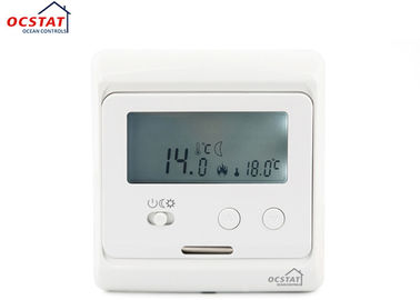 China Wall Hanging Digital Electronic Room Thermostat for Home Heating System supplier