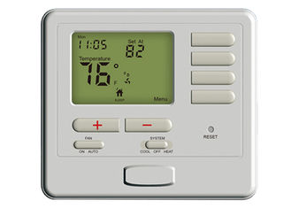 Weekly Lcd Battery Operated Room Thermostat, 7 Day Programmable Thermostat Water Heater Air Conditioning
