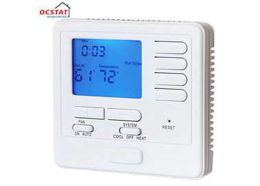 China Gas Configurable heat pump thermostat Programmable , Digital Air conditioner Thermostat supplier