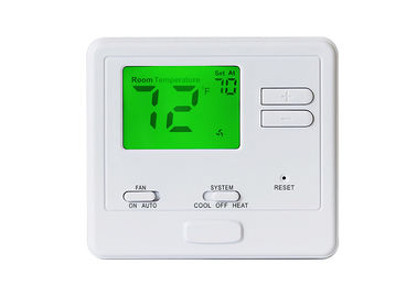 China Universal Auto AC 24 Volt Non - Programmable Thermostat With Single Stage System supplier