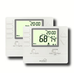 Non Programmable FCU HVAC Thermostat Auto / Manual Control High Accuracy