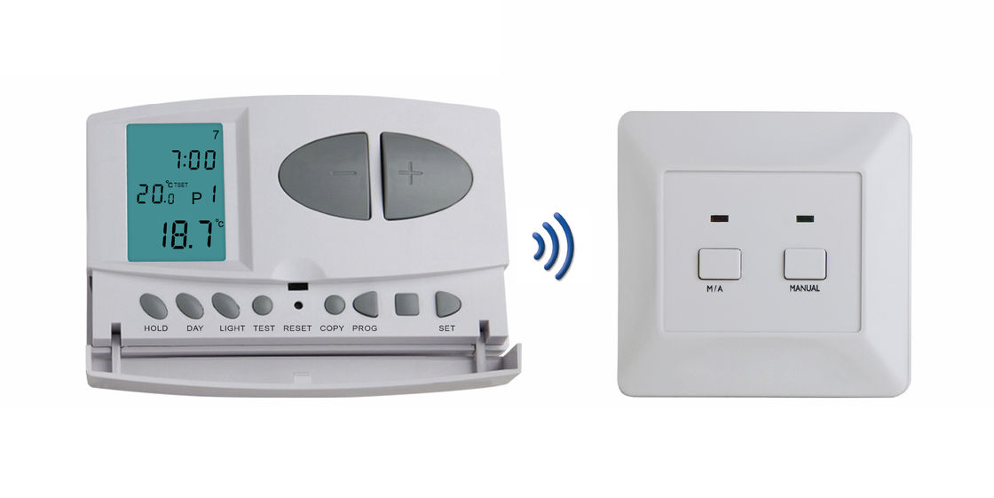 Heating And Air Conditioning Digital Furnace Thermostat 7 Day Programmable