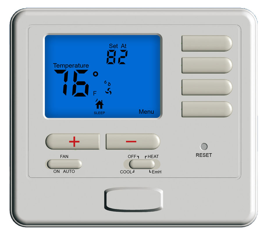 Digital Air Conditioner Thermostat Wired Programmable