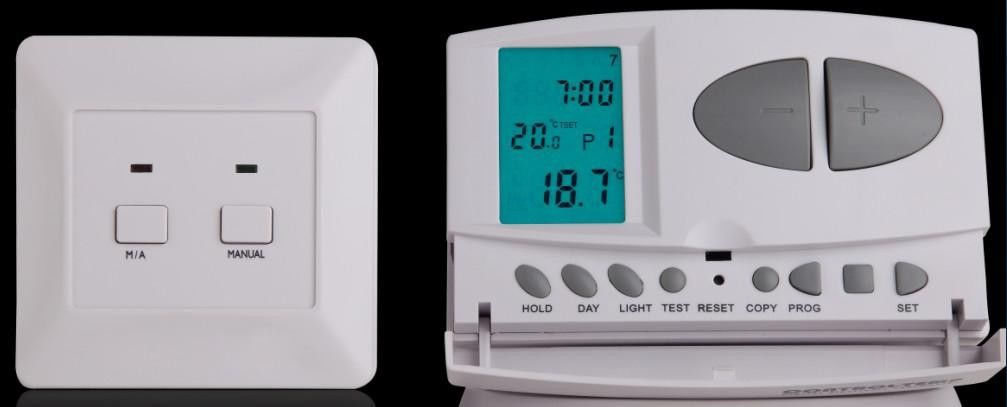 Wireless heating thermostat digital wireless room for Room heating systems