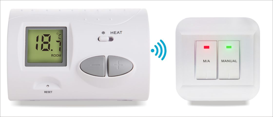 2 Stage Heating Thermostat Programmable Room For Combi Boiler