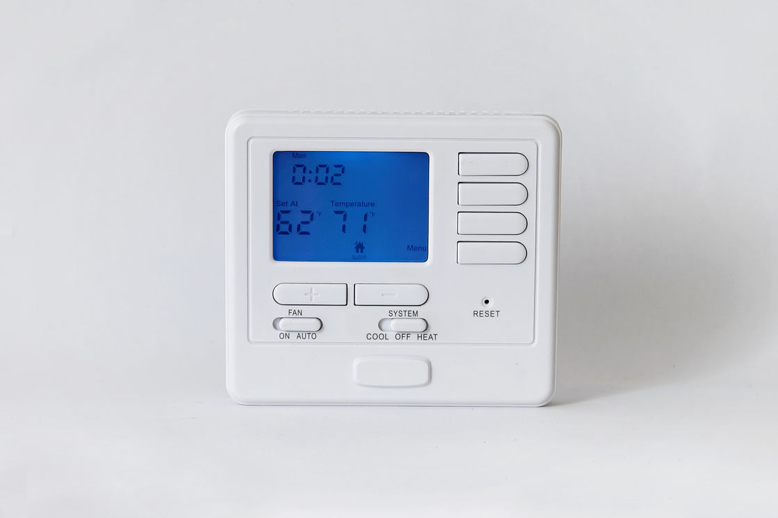 2 Stage Heating And Cooling Wired Room Thermostat Outdoor For Heat Pump