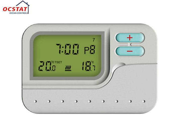 Lcd Water Heating Room 7 Day Programmable Thermostat Gas