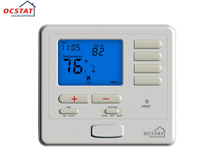 Electric Central Heating Weekly Programmable Room Hvac Air