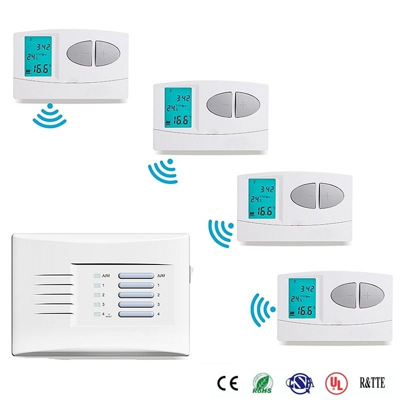 Wireless Weekly Wireless Programmable Room Thermostat