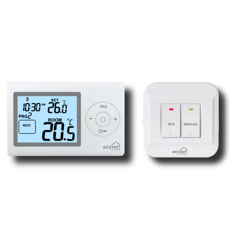 24 Hour Rf Programmable Room Adjustable Temperature