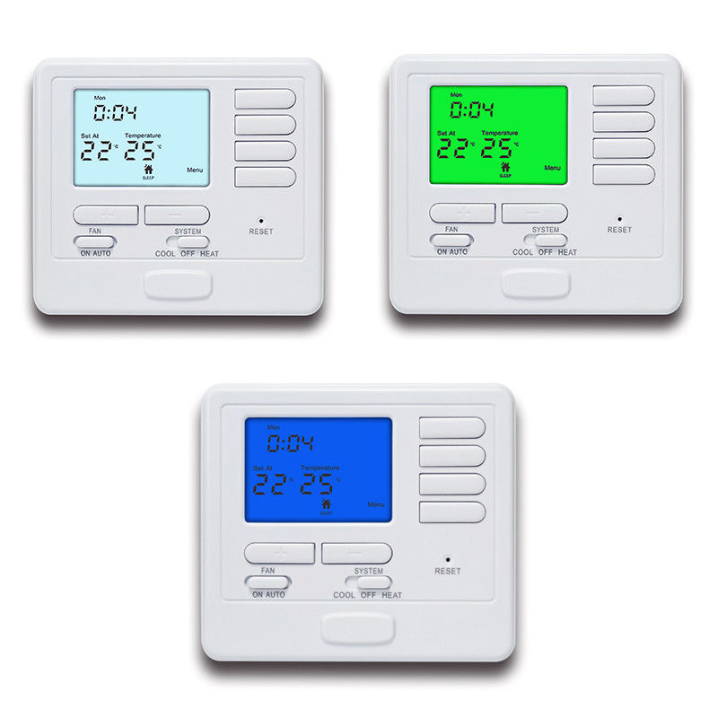 Electric Central Heating Weekly Programmable Room Hvac Air Conditioning Room Thermostat
