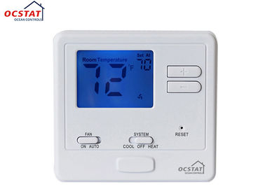 Simple Comfort Heating FCU Digital Air Conditioning Thermostat With Indoor Hot Switch