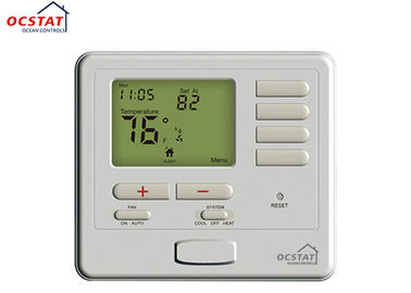 24V LCD Programmable Wired Room Thermostat US Standard Electric Floor Heating System