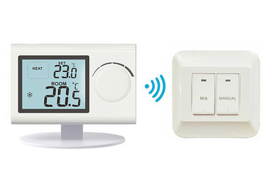 LCD Screen Electronic Heating Floor Heating Wireless Room Thermostat