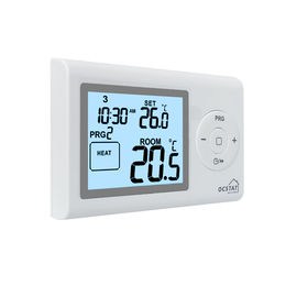7 Days Programmable Boiler Heating Thermostat CE RoHS High Accuracy