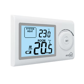 Office Wireless Gas Boiler Thermostat With Large Dial Adjustable Button