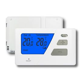 Boiler Digital Room Non - Programmable Thermostat Battery Operated For Heating