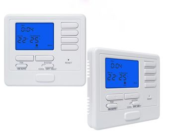 China 24V Power Supply Digital Programmable Room Thermostat With Heatig System factory