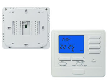 China Heating And Cooling Digital Room Thermostat 24volt  One Year Warranty factory