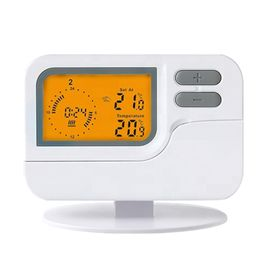 China Wired 7 Day Programmable Thermostat Energy - Efficient Heating / Cooling factory