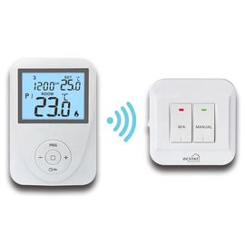 China 868.35MHZ Electronic RF Digital Room Thermostat With Smart Home Technology factory