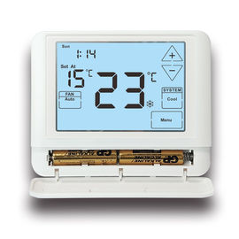 China 2W Digital Room Thermostat Temperature Controller Square Shaped factory