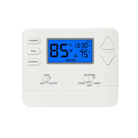 China Multi Stage 5 / 1 / 1 Programmable Digital Room Thermostat For Heating Control Easy Operation factory