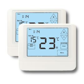 Weekly Programmable HVAC Thermostat Touch Button / Digital Room Thermostat
