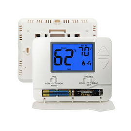 Anti - Flammable Non Programmable Room Thermostat NTC Sensor Eco - Friendly