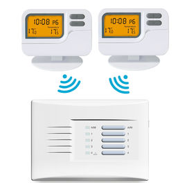 CE Wireless Room Thermostat Weekly Programmable Multi Zone Thermostat Pack