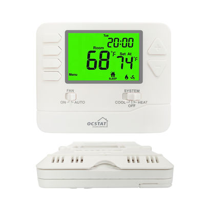 NTC Sensor Multi Stage Programmable Thermostat For Air Conditioner