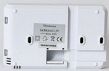 Flame Retardance ABS WIFI Room Thermostat With Heat / Off / Cool Switch