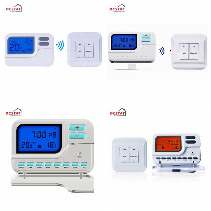Digital Heating Wireless Room Thermostat 7 Day Programmable  Temperature Control