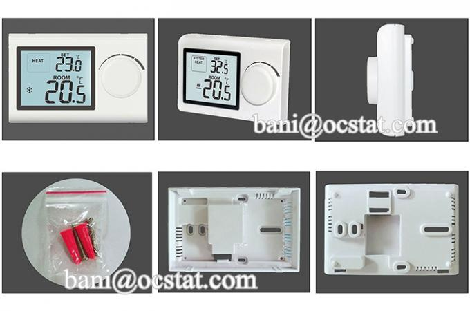 Modulating combi boiler Heating Electronic Room Thermostat For Hot Water