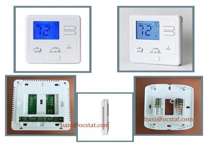 Admirable Manual Heating And Cooling Ac Wired Room Thermostat For Central Air Wiring Digital Resources Anistprontobusorg